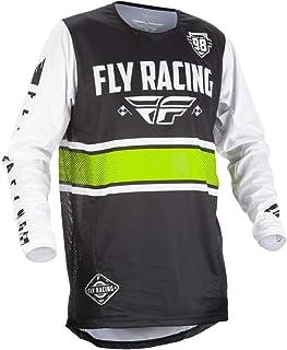 Fly Racing Jersey Kinetic Era Schwarz/Weiß