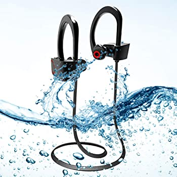Acid Eye U8 4.1 Waterproof Wireless Bluetooth Headset with Mic - Black