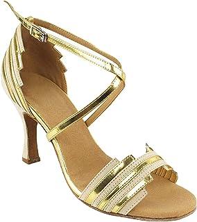 "Women`s Ballroom Dance Shoes Tango Wedding Salsa Shoes Sera1700EB Comfortable-Very Fine 2.5""[Bundle of 5]"