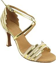 Women's Ballroom Dance Shoes Tango Wedding Salsa Shoes Sera1700EB Comfortable-Very Fine 2.5