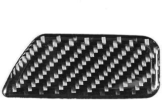 Yctze Carbon Fiber Box Switch Trim,Auto Box Schalter Trim Carbon Aufbewahrungsbox Schalter Panel Dekoration Verkleidungsdekoration Abdeckung Trim Fit für A3 8V 2014 2019