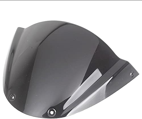 wholesale Mallofusa new arrival 2021 Motorcycle Windscreen Front Windshield Universal Compatible for Ducati 696 Black outlet online sale