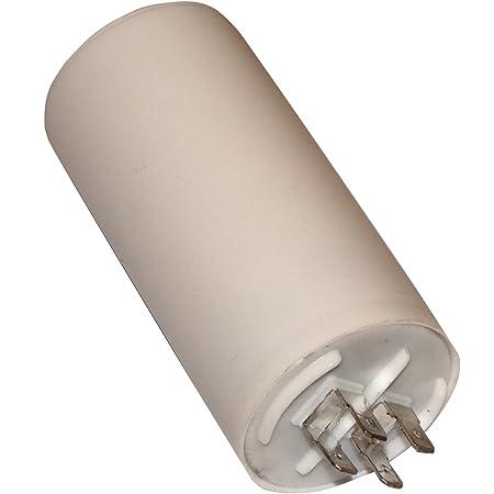 Condensateur permanent de travail pour moteur 35µF 450V avec cosses 6,3mm