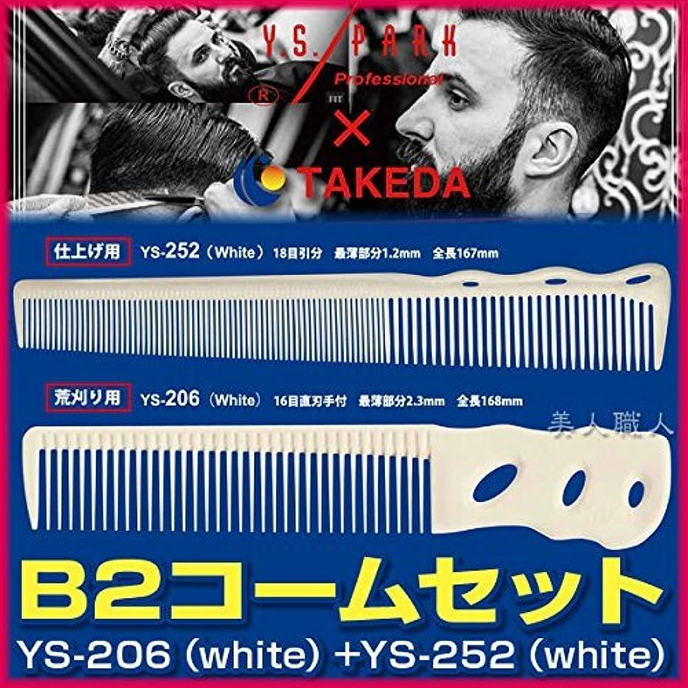 要求パスタソートB2コームセット 【YS-206(white)+YS-252(white)】