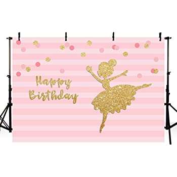 Girls 10x12 FT Photo Backdrops,Ballerina Dancing Daughter Classic Performance Hobby Birthday Kids Baby Theme Background for Photography Kids Adult Photo Booth Video Shoot Vinyl Studio Props