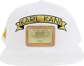 wholesale dealer 86d72 ac541 Karl Kani Gold Plate Snapback Embroidered Hat Black White Red Tan