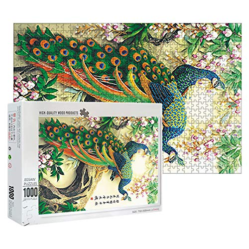 Jigsaw Puzzle Toy, Adults Puzzles 1000 Piece Large Puzzle Game Interesting Toys Personalized Gift, Toys & Hobbies for Home Family Interactive DIY Killing Time