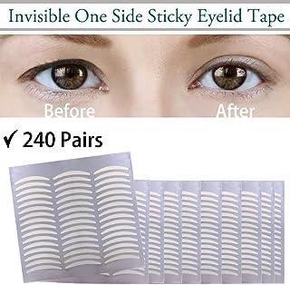 Tiras adhesivas invisibles para elevar los párpados,