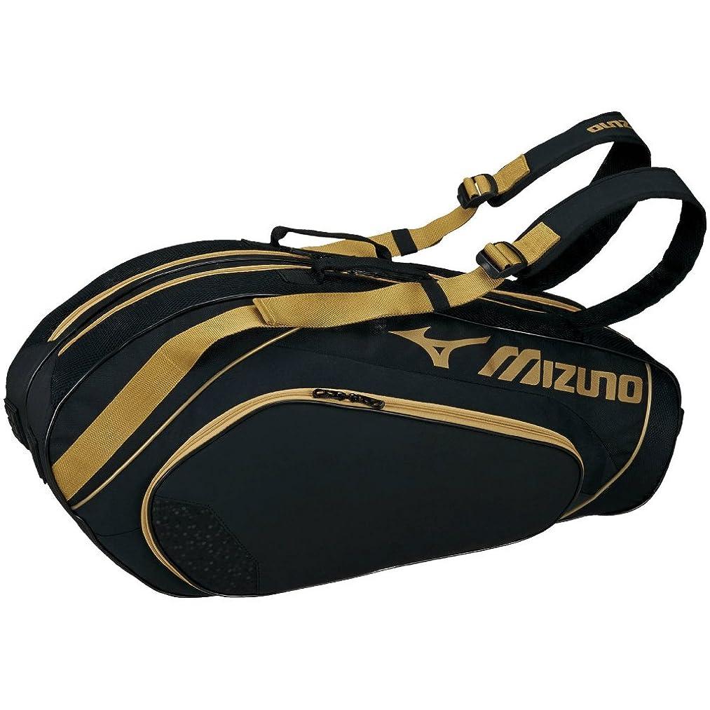 想像力見込み有効なMIZUNO(ミズノ) テニスバッグ ラケットバッグ 6本入れ 63JD7003
