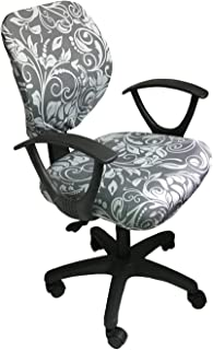 MOCAA Computer Office Chair Covers Universal Stretchable Polyester Washable Rotating Chair Slipcovers,ONLY Chair Covers (Color 2)