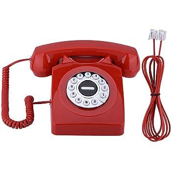 teléfono Antiguo de de Que SE almacena La Parte Trasera teléfono de guadrante rotatorio para el Ministerio del Interior: Amazon.es: Electrónica