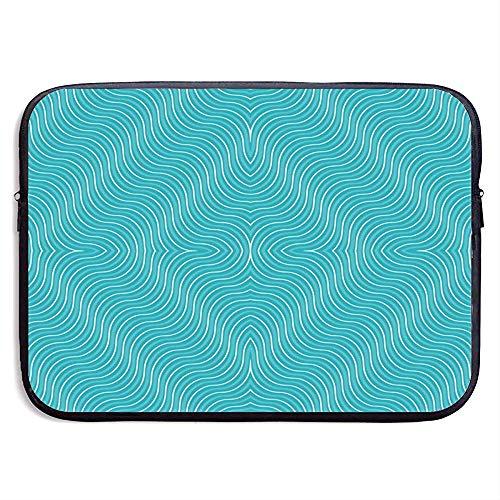 15 inch Stip Stof Behang & Gift Wrap (5203) Waterafstotend Laptop Sleeve Tas Cover