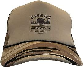 Tcombo Camp Crystal Lake - Summer 1980 Parody Camoflauge Trucker Hat