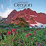 Oregon Wild & Scenic 2020 12 x 12 Inch Monthly Square Wall Calendar, USA United States of America Pacific West State Nature (English, Spanish and French Edition)