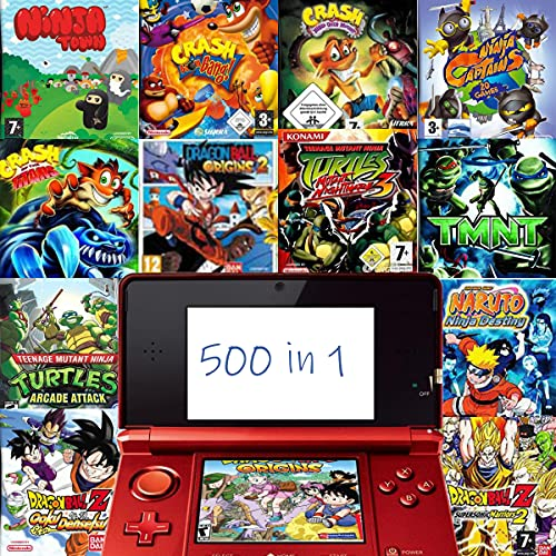 500 in 1 Spiel NDS Spiel Kassette DS Game Pack Super Combo für DS NDS NDSL NDSi 3DS 2DS XL Neu