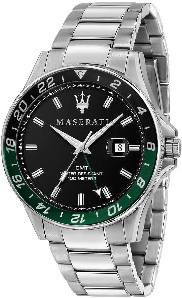 Maserati Reloj Hombre, Colección SFIDA, en Acero - R8853140005