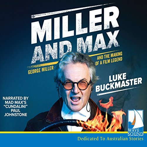 Miller and Max audiobook cover art