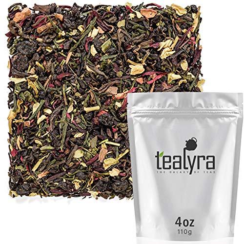 Tealyra - Fat Burner - Wellness weight-loss Tea Blend - Pu Erh Aged with Sencha Green Tea and Wu-Yi Oolong - Diet Refreshing - Natural Ingredients - Healthy - Detox Loose Leaf Tea - 110g (4-ounce)