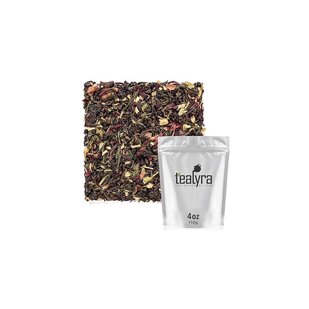 Detox products Tealyra – Fat Burner – Wellness weight-loss Tea Blend – Pu Erh Aged with Sencha Green Tea and Wu-Yi Oolong – Diet…