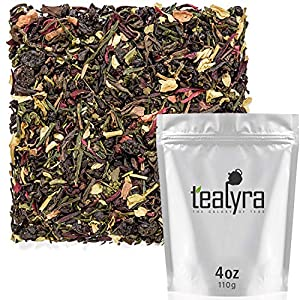 Detox products Tealyra – Fat Burner – Wellness weight-loss Tea Blend – Pu Erh Aged with Sencha Green Tea and Wu-Yi Oolong – Diet…
