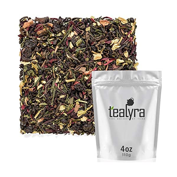 Detox products Tealyra – Fat Burner – Wellness weight-loss Tea Blend – Pu Erh