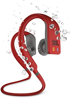 Fone de ouvido in ear bluetooth esportivo Vermelho JBLENDURDIVERED, JBL