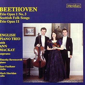 Beethoven: Trio Opus 1 No. 3 / Scottish Folk Songs / Trio Opus 11