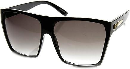 7b7c9861d2 Super Oversized Sunglasses Unisex Flat Top Square Frame Fashion Wear