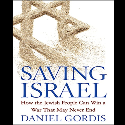 Saving Israel audiobook cover art