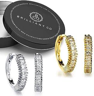 2pc Gift Set Huggies Earrings
