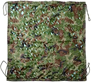 Image of DPPAN Camouflage Netting, Sunscreen Nets Great for Camping Desert Woodland Military Shooting Hunting Sunshade Hide Party Decorations,Green_2x6m(7x20ft)