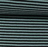 Ringel-Bündchen Andy Streifen, 3 mm, hell-/dunkelblau