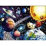 QWERDF 1000 Pedazos del Rompecabezas Puzzle Espacio para Adultos De Los Niños, 27,5 X 19,7 Pulgadas Dato Curioso Cartel Prima Reciclable Materiales De Bricolaje Rompecabezas De Juguete Juego,B