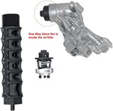 TOYECOTA - Car Engine Oil Cooler Filter One Way Air Valve 5541525 93186324 55353322 12992593 For Cruze For Aveo Opel For Astra