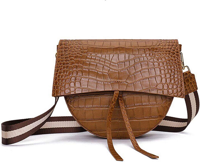 KB Women's Shoulder Bag Leather Simple