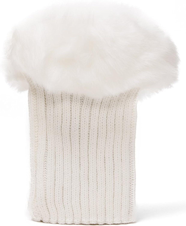 Womens Winter Leg Warmers w/Lace