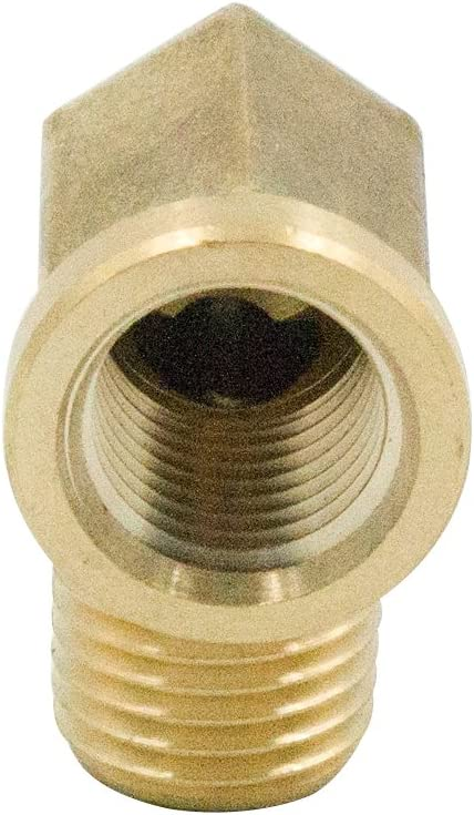 Pack of 5 Vis Brass 90 Degree Street Elbow 1//2 NPT Female x 1//2 NPT Male Forged Pipe Fitting