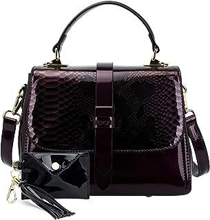 ZOCAI محفظة وحقيبة يد للنساء - حقيبة عمل بمقبض علوي حقائب كتف