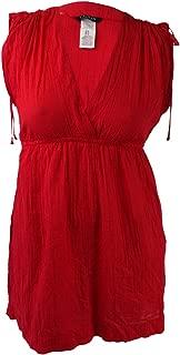 LAUREN RALPH LAUREN Crushed Farrah Swim Cover-Up Dress