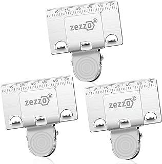 Zezzo Lot de 3 pinces à ruban - Outil de mesure pour coins - Positionnement précis