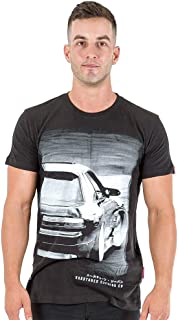 Nissan Silvia S13 Turbo JDM Race Drift Mens Black Cotton Tee Shirt