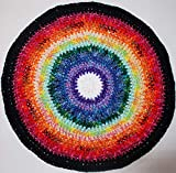 Rainbow 24' Handmade Cat Blanket - A blanket with a story … free catnip toy and shipping too!