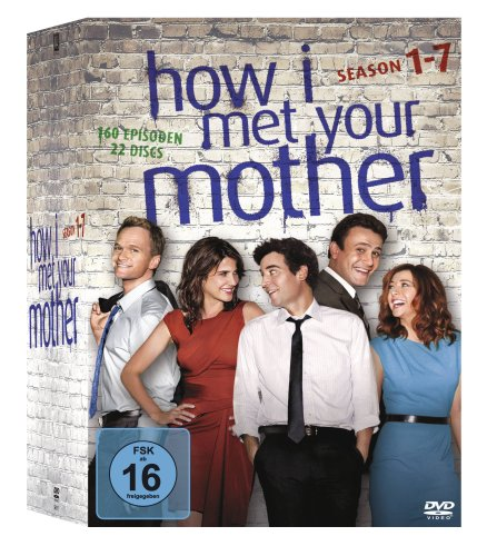 How I Met Your Mother Komplettbox, Seasons 1-7 (exklusiv bei Amazon.de) [22 DVDs]