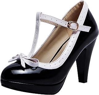 a890986163c5ee Amazon.fr : Escarpins Lanières : Chaussures et Sacs