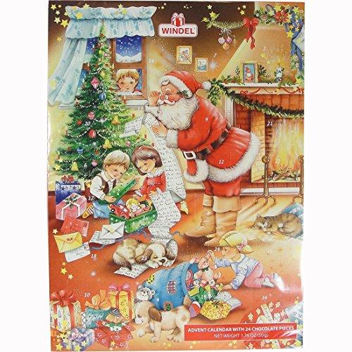 Windel Christmas Advent Calendar 50g