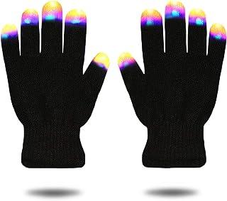 Easony Guantes de Luz LED Intermitentes Geniales - Los