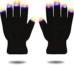 DIMY Best Popular Top Boys Toys Age 5-10, Stocking Stuffer Party Favors LED Flashing Lights Gloves Hot Toys for Christmas Boys Fun Cool Hot Brithday Gifts for 6-12 Year Old Boys G07