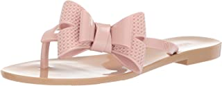 Melissa Shoes Women's Harmonic Bow V Beige/Pink 8 M US