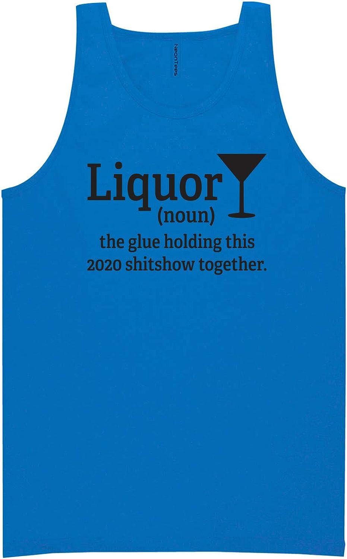 zerogravitee Liquor (Noun) Neon Tank Top