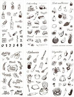 Best cooking scrapbook stickers Reviews